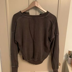 American Eagle Outfitters Sweaters - Buttoned Crewneck